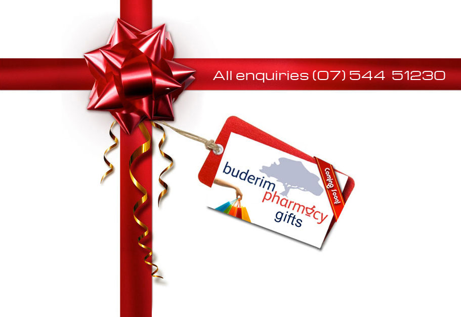 Buderim Pharmacy Gifts Coming Soon